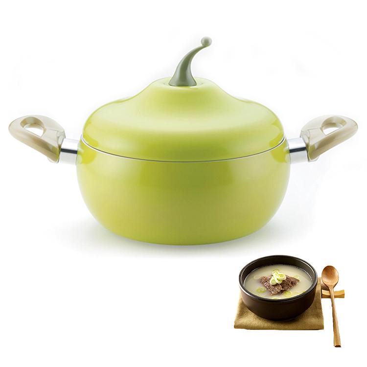 Алюминиевая кухонная кастрюля для супа, антипригарная Кастрюля для фруктового соуса, бойлер в форме томатов, без испарения, бытовые инструменты для приготовления пищи, кухонная утварь