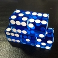 Free shipping NEW Exclusive 1pc 6 sided D6 19mm rectangular transparent acrylic gambling Dice for cardgame