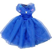 New Style Child's 3 to 10 baby girls dress Cosplay Costume Cinderella Wedding Dresses Baby Girls Princess Party dress Vestidos