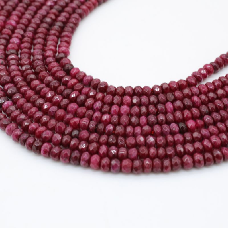 natural stone red agate ruby round gemstone stone beads