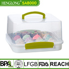 HENG LONG PP Plastic cake containers  cup cake carrier