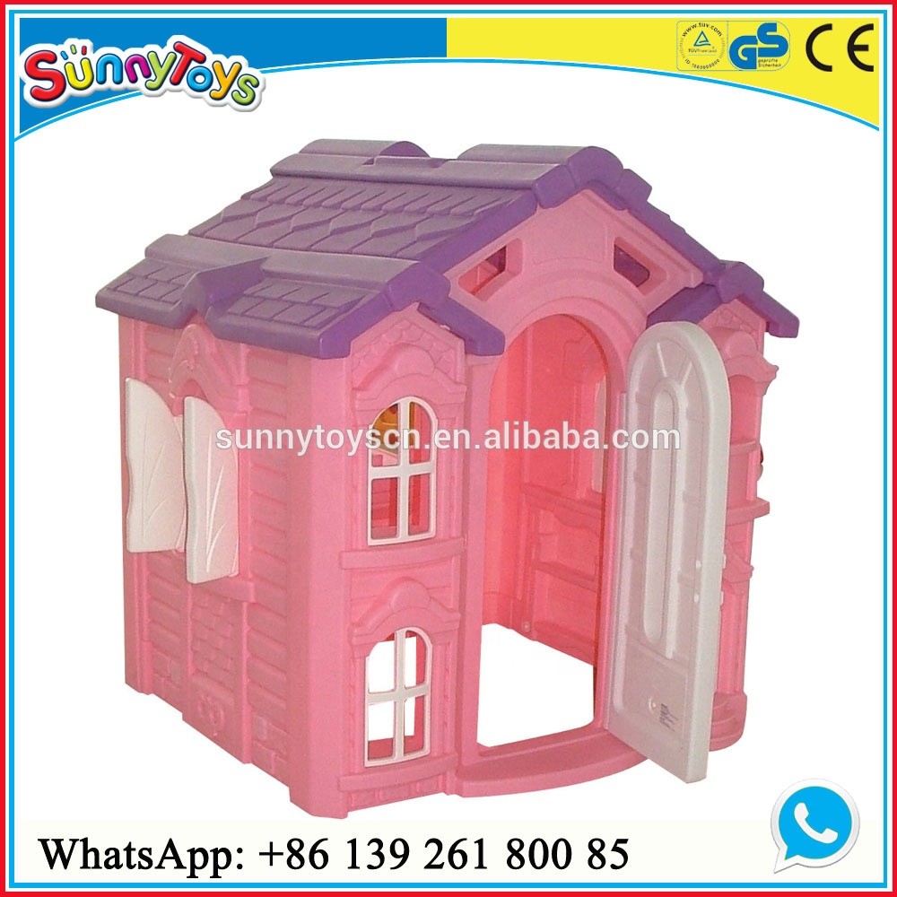 Preschool outdoor plastic house/children plastic play house