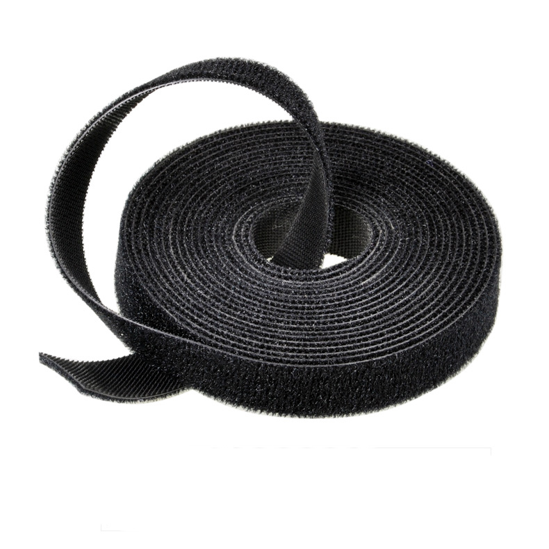 Wholesale nylon hook and loop back to back soft fastener cable tie