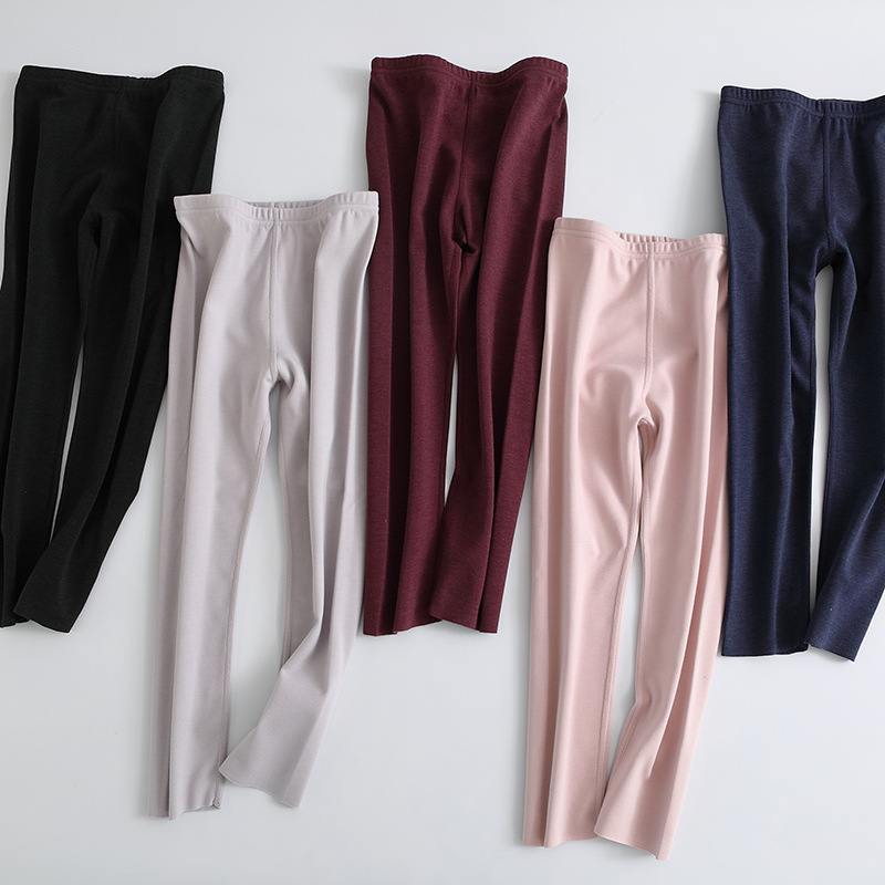 Kids Girls Boys Thermal Underwear Long Johns Pajama Pants Long Underwear Unisex Womens Mens Long Johns