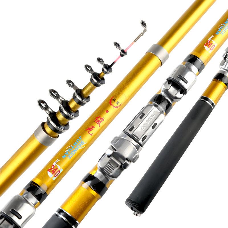 Peche 1.8-3.0m Super Short Rock Fishing Rod