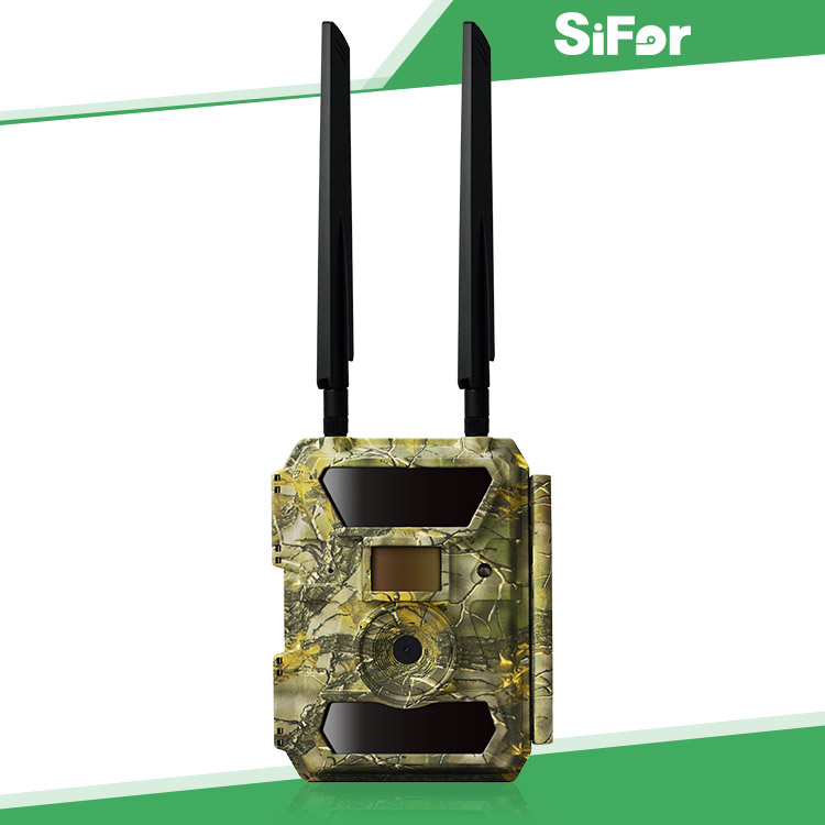 New 4G LTE GPS location IP66 Waterproof Outdoor Wildlife Hunting Trail Camera with video transmission