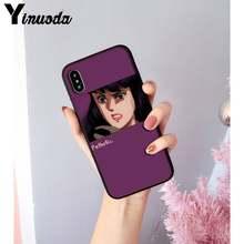 Yinuoda аниме Эстетическая мода красивая девушка Новинка чехол для телефона iPhone 8 7 6 6S 6Plus X XS MAX 5 5S SE XR 11 11pro 11promax(Китай)