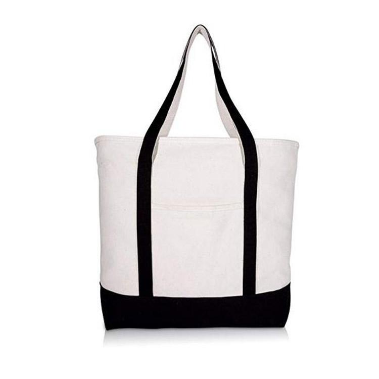 Promotional Plain Canvas Bag Cotton Canvas Felt Tote Bag