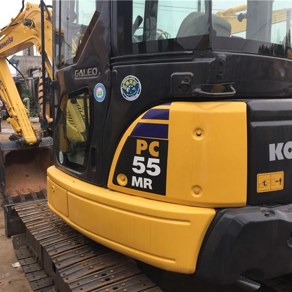 Used japan komatsu pc55 mini tractor excavator/excavadora,komasu small excavadora good prices china for sale