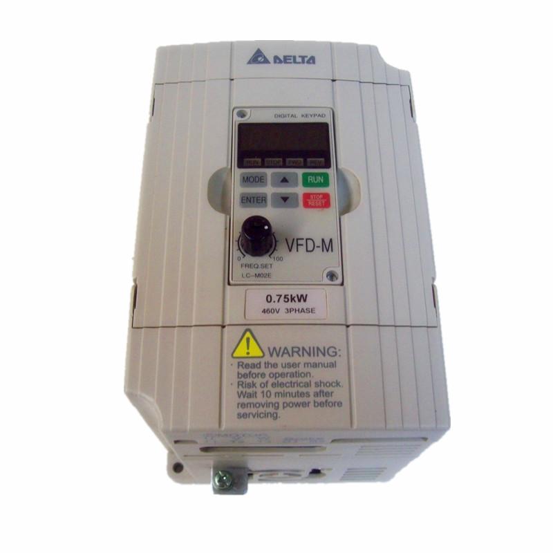 Delta VFD-007M43B Frequency Inverter Drive 1HP/460V 3PH