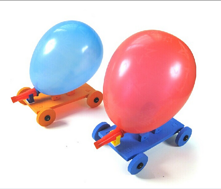 Balloon Powered Car 91