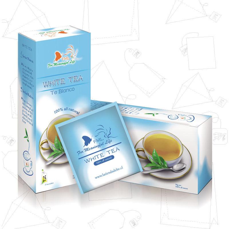 OEM organic white tea teabag - 4uTea | 4uTea.com