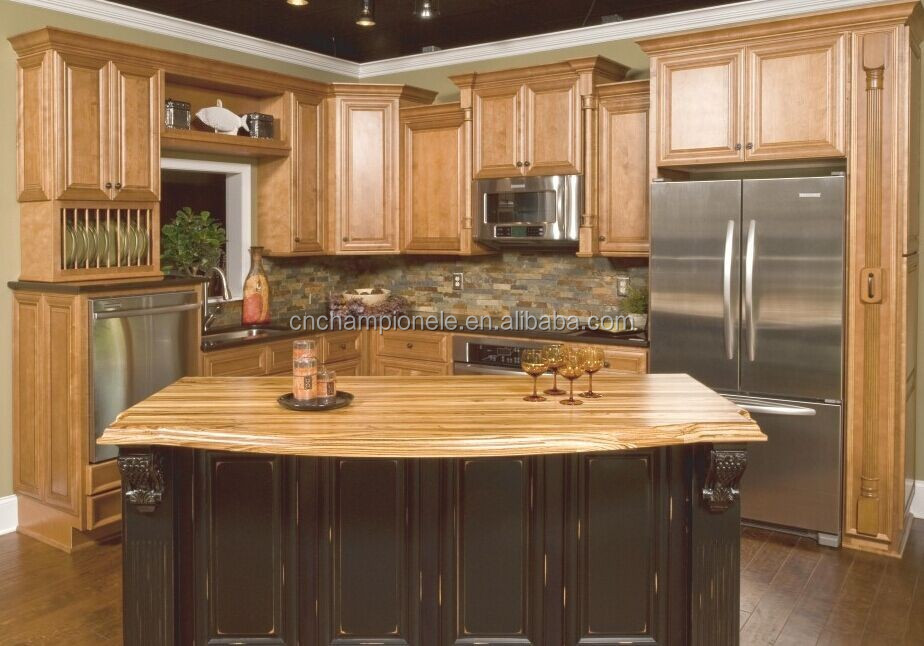 Walnut Wood Kitchen Cabinets Photos