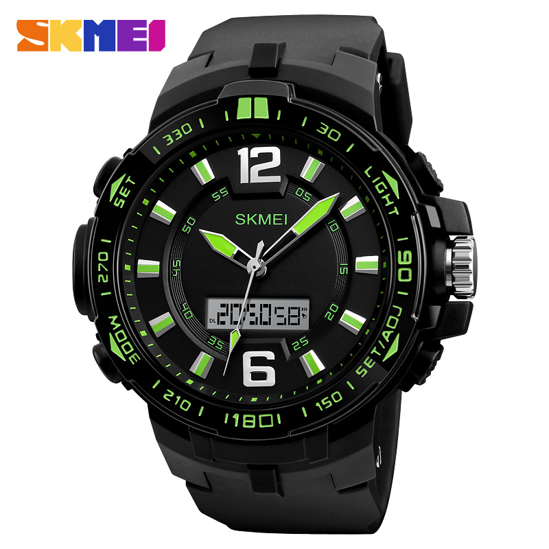 Manufacturer SKMEI 1273 custom mens sport digital watches made in China