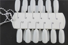 5 Pcs Tips Nail Art Polish Display Double Layer Faces 24 tips Board Practice Tool Wholesales