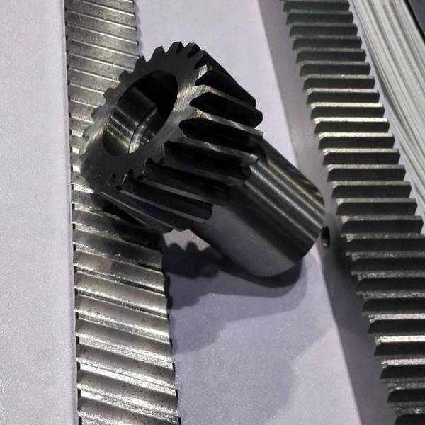 Chinese factory high grade gounded teeth rack and pinion