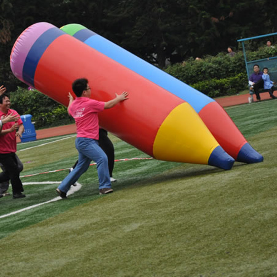 Popular Inflatable Games For Team Building Games Inflatable Pencil Toy For adults