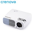 Crenova XPE600 LED Video Projector 2600 Lumens 800 480 Resolution Office 1080P HD Home Cinema Theater