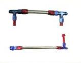 Фитинг из нержавеющей стали и алюминиевого сплава, фитинг для шланга, регулируемая двойная линия сборки подачи топлива <span style=