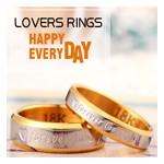 Italina מותג משלוח חינם החדשים 18K זהב נשים קריסטל הלב תכשיטים עשויים עם אלמנט סברובסקי טבעות