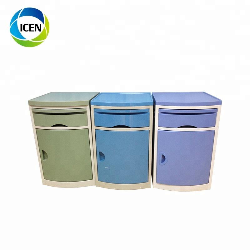 Высококачественный медицинский прикроватный шкаф/стол/шкафчики из АБС-пластика IN-505