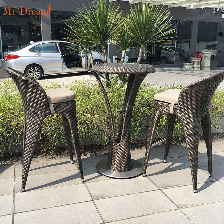 Современный Штабелируемый уличный пластиковый барный стул KTV для отеля