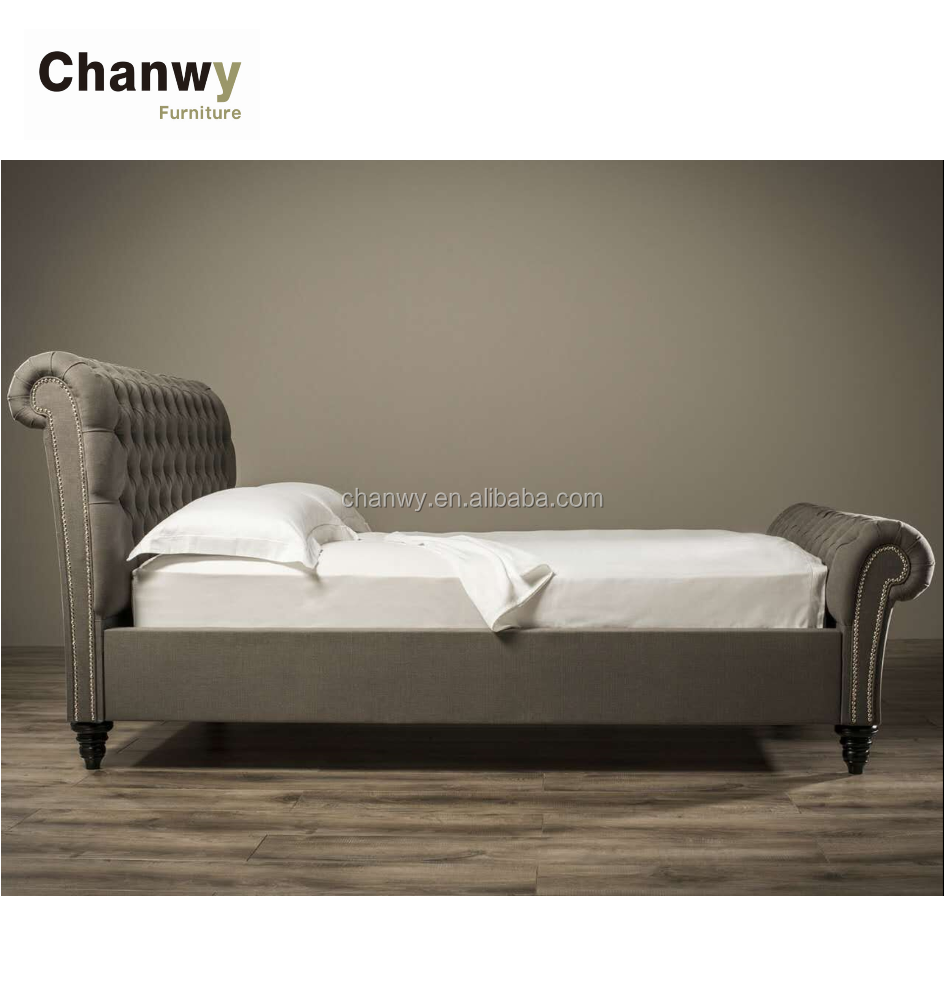bed factory foshan bed supplier longjiang chesterfield bed manufacturer