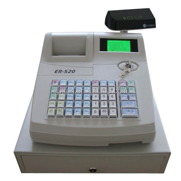 50 keys billing machine with RS232 can connect with barcode scanner and external printer
