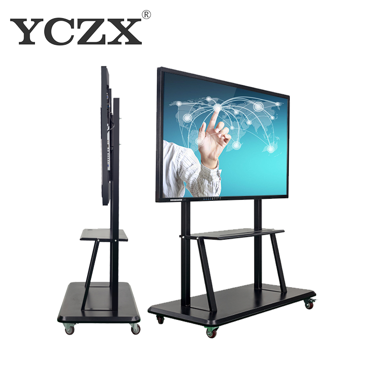 75inch ir multi touch screen all in one interactive flat active panel TV smart board led display Boards for Office/School - Yola WhiteBoard | szyola.net