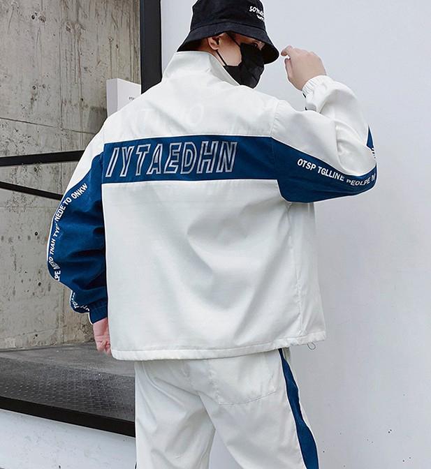Оптовая продажа OEM, модная весенняя спортивная одежда, повседневный мужской спортивный костюм в стиле хип-хоп