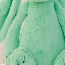 Милая длинная Ушная Зайка пушистый кролик плюшевые игрушки Kawali Подушка мягкие куклы игрушки для девочек Спящая кукла Детские игрушки Детск...(Китай)