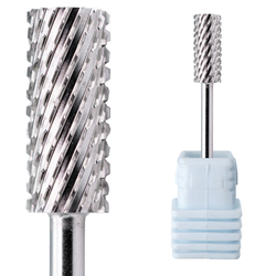 Серебряное Карбидное сверло Efile 5,35 мм для маникюра, маленькое Карбидное сверло