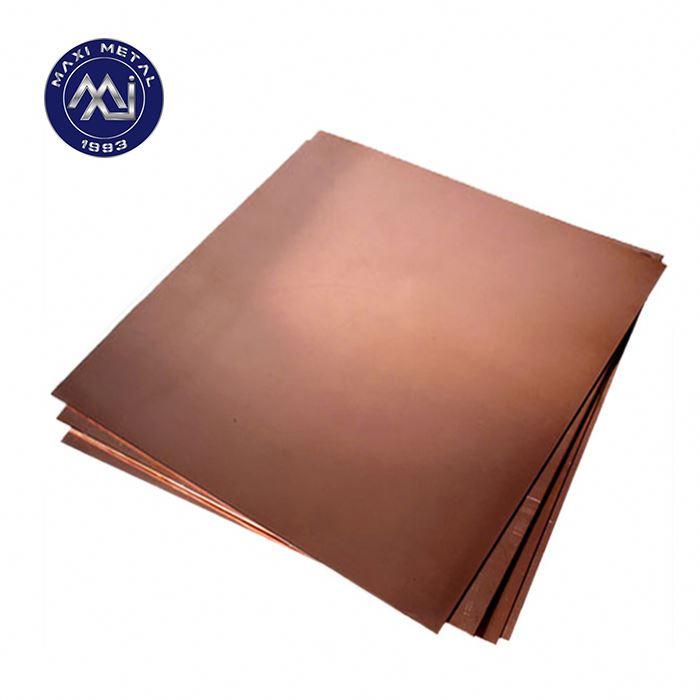 C12200 медная пластина/лист из чистой меди, оптовая цена на красный медный лист/пластина