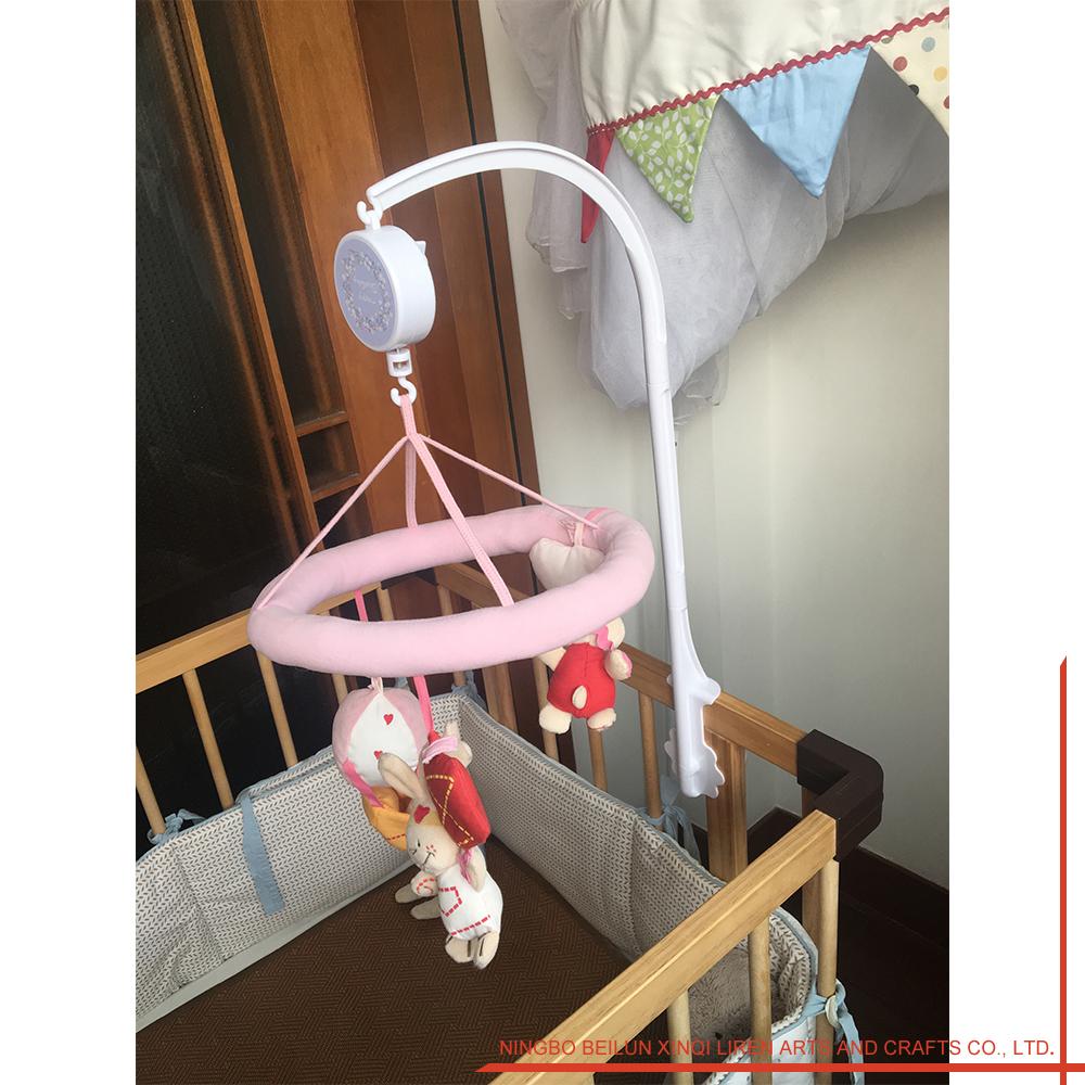 Flower Shape Musical Boy Crib Mobile Kit