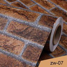 0,4x3 м современные 3D обои виниловый кирпич узор Ванная комната Кухня Водонепроницаемый домашний декор Настенная Наклейка обои для гостиной(Китай)