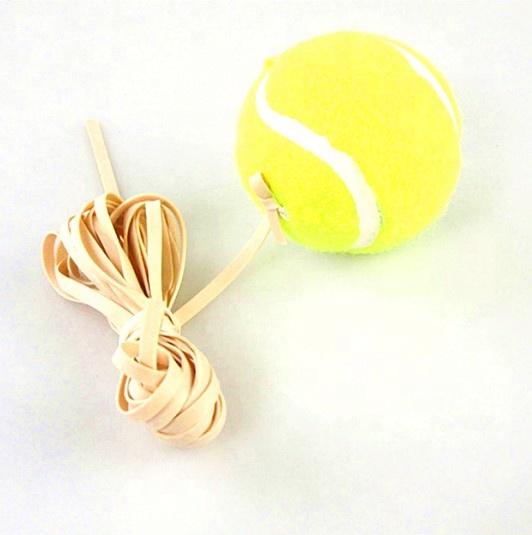 Спортивные теннисные мячи без давления на заказ, с веревкой для начинающих