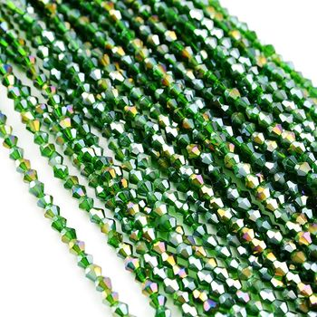 chinese crystal beads wholesale glass beads 4mm bicone beads for jewelry making
