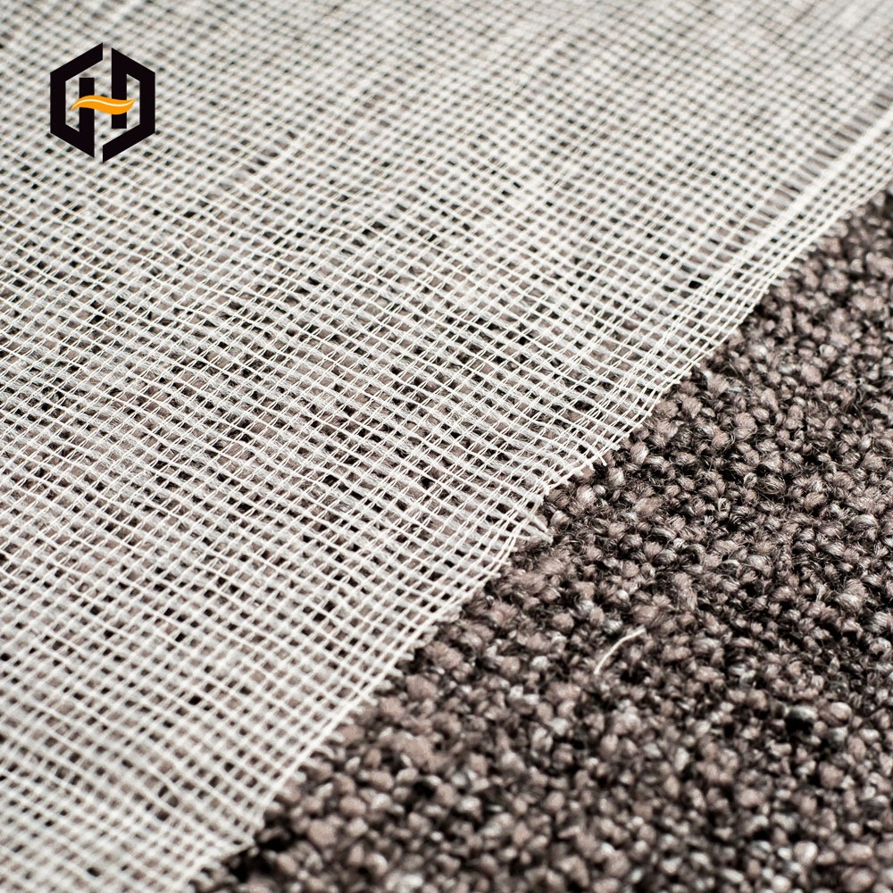 Изготовленная на заказ Легкая сетчатая ткань, Нетканая полиэфирная сложная серая ткань для клейкой ленты