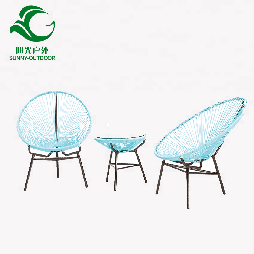 hot sales blue wicker outdoor egg chair patio furniture table set buy outdoor chair coffee table set white rattan outdoor chair product on