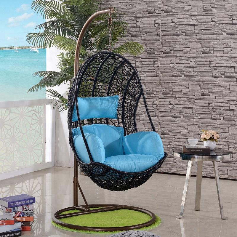 Плетеный ротанговый стул для сада, балкона