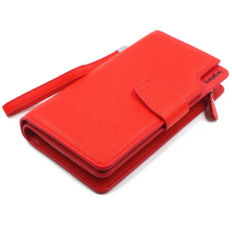 0f9b9d28306 Free shipping new fashion women wallet leather brand wallets women  wholesale lady purse High capacity clutch