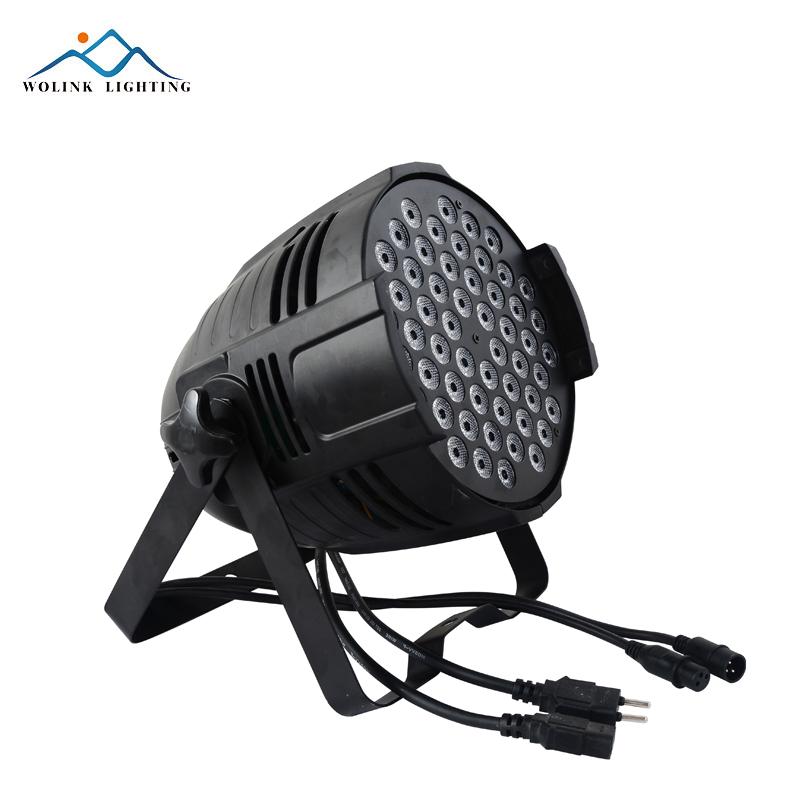 Горячая Распродажа, галогенный сценический свет, теплый белый светодиод par 64, высококачественный Китайский светодиодный сценический свет