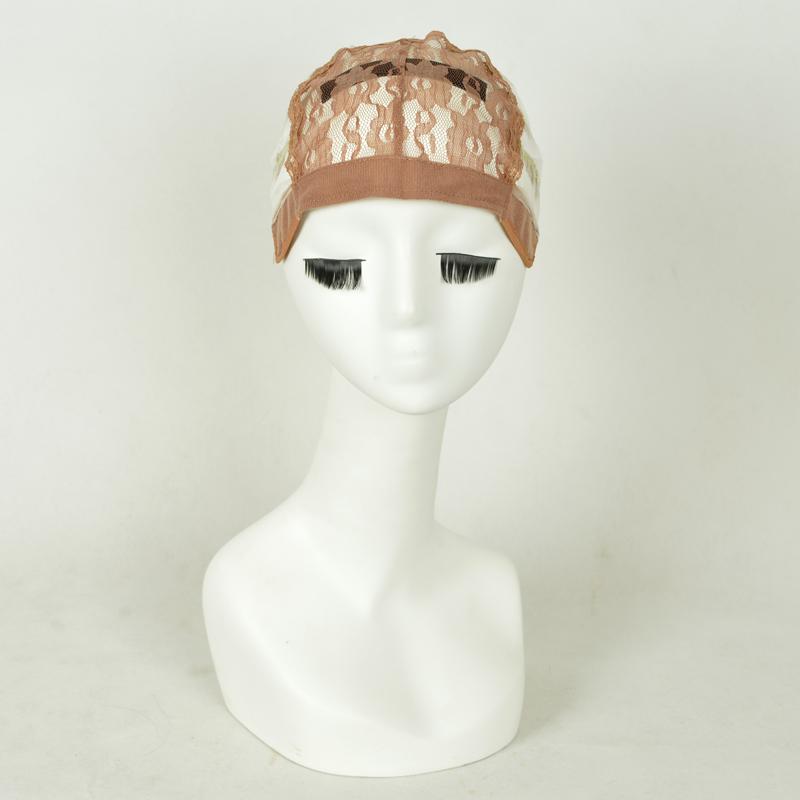 1 шт. / lot три цвета средний размер регулируемый парики шапки для изготовления прошитый парики внутри внутри шапки сетей