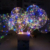 New product Flashing Light up Bobo Grow Ballon Led Bobo Balloon for Wedding Decoration