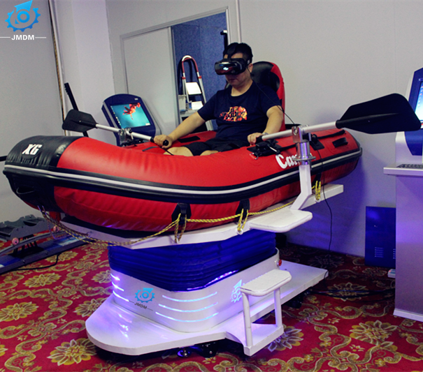 China Manufacturer VR Drifting Boat Simulator 9d VR Rafting Game Machine