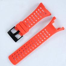 Аксессуары для часов резиновый ремешок 24 мм для SUUNTO AMBIT1 2S 2R 3R 3 пик Спорт на открытом воздухе водонепроницаемый мужской и женский ремешок для...(China)
