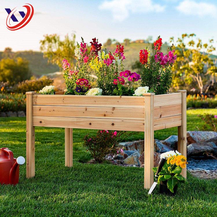 Экологичный пихтовое дерево открытый садовый цветок плантатор Рабочий стол