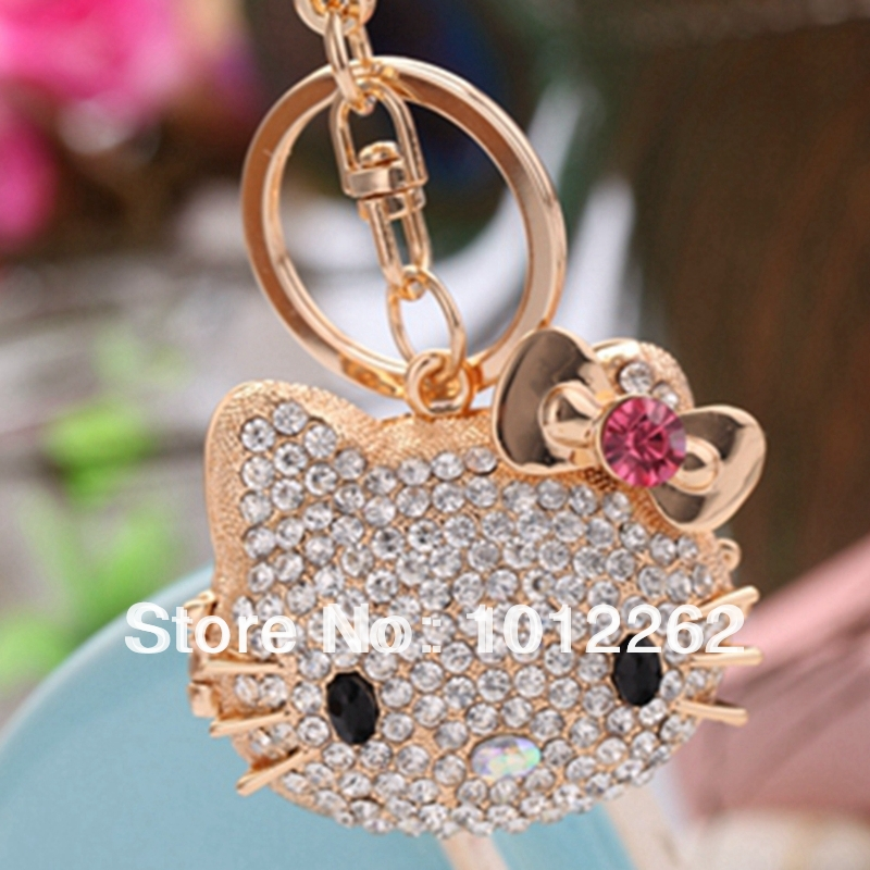 Big Diamond Ring Keyring