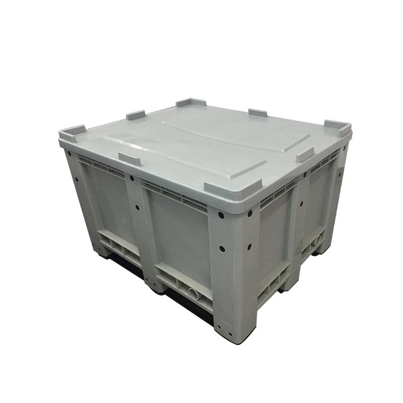 Сверхмощный Штабелируемый пластиковый контейнер для поддонов mega bin