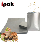 Food Packaging Pouch Food Wholesale 3 Side Sealed Aluminum Foil Food Packaging Pouch For Nuts